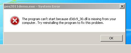 D3dx9_30. Dll скачать бесплатно как исправить ошибку отсутствует.